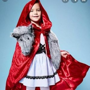 Red Riding Hood Complete Costume sz 4